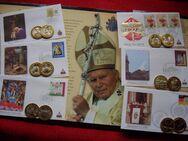 Vatikan 2005 - Abschied und Nachfolge des hl. Papstes Johannes Paul II.- Kollektion - Immenstadt (Allgäu) Zentrum