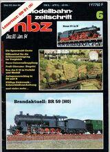 mbz modellbahn-zeitschrift Jahr 1993/94, Heft Dezember / Januar BR 01