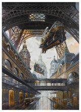 Didier Graffet - SOUS LES 72 Giclée FineArt Print 61x84 cm