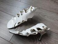 Damen Sandaletten/Pumps/High Heels Gr.39 Weiss 7cm **Anschauen** - Köln