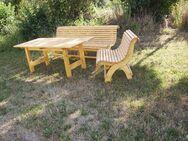 Gartengarnitur-- Wellnessbank Gartentisch Beistellbank - Tyrlaching