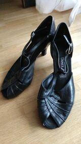 Tanzschuhe schwarz, Größe 6