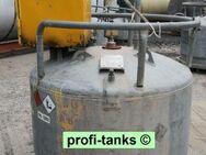 S33-5 gebrauchte 950 Liter mobil-Tankstelle mit Zapfsäule Stahltank doppelwandiger Kraftstoffcontainer Treibstoff Lagertank - Nordhorn