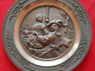 Zinnteller von WMF (Rembrandt - Selbstbildnis mit Saskia) - Pattensen Zentrum