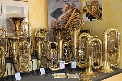 Cervený Symphonia III - Tuba in B, CBB 786 - 4 RB mit Trigger. Neuware mit Koffer - Hagenburg
