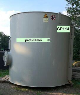 GP114 gebrauchter 16.300 L PP-H-Tank chemikalienbeständiger Lagertank Rapsoeltank Gülletank Flüssigfuttertank Sickersafttank Zisterne Wassertank - Nordhorn